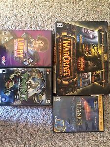 Pc games and DVDs lot