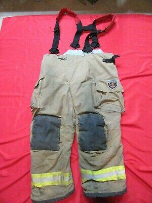 Mfg. 2010 44 X 28 Fire Dex Firefighter Turnout Bunker Pants Gear Rescue Safety