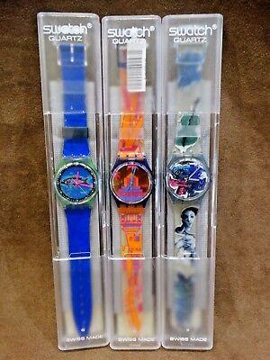 Vintage Swatch Watches  Fri Fishe   Rara Avis   Photoshooting