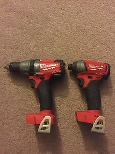 Milwaukee M18 fuel hammer drill and impact