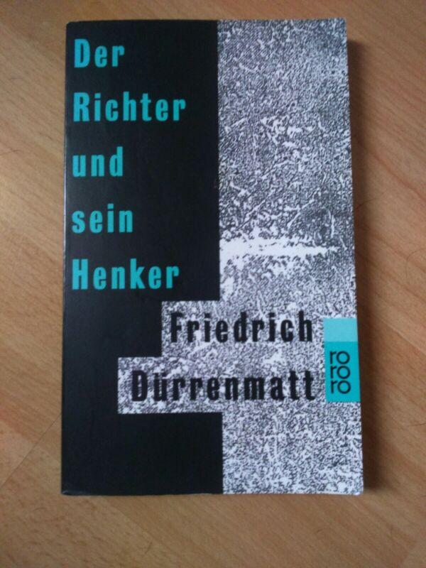 Der Richter und sein Henker von Friedrich Dürrenmatt (2009, Taschenbuch)