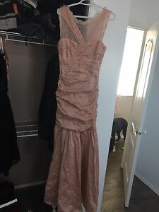 Grad Dress- BCBG - blush pink