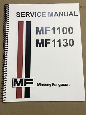 1100 Massey Ferguson Tractor Technical Service Shop Repair Manual Mf1100