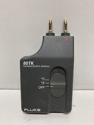 Fluke 80tk Thermocouple Module K-type