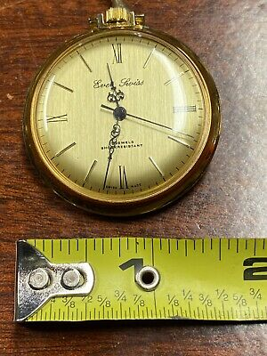 Vintage pocket watch 17 Jewels Shock Resistant Ever Swiss Good Working Order