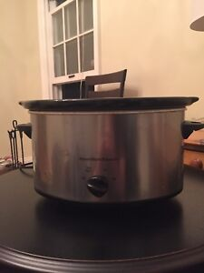 Stainless steel crockpot