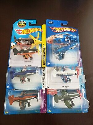 Hot Wheels 2008 All Stars Mad Propz Army Green Treasure Hunt & More Lot of 6