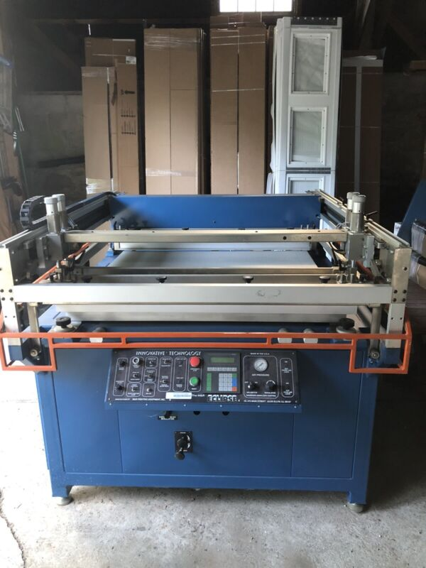 Eclipse Graphic Screen Printing System M& R Equipment