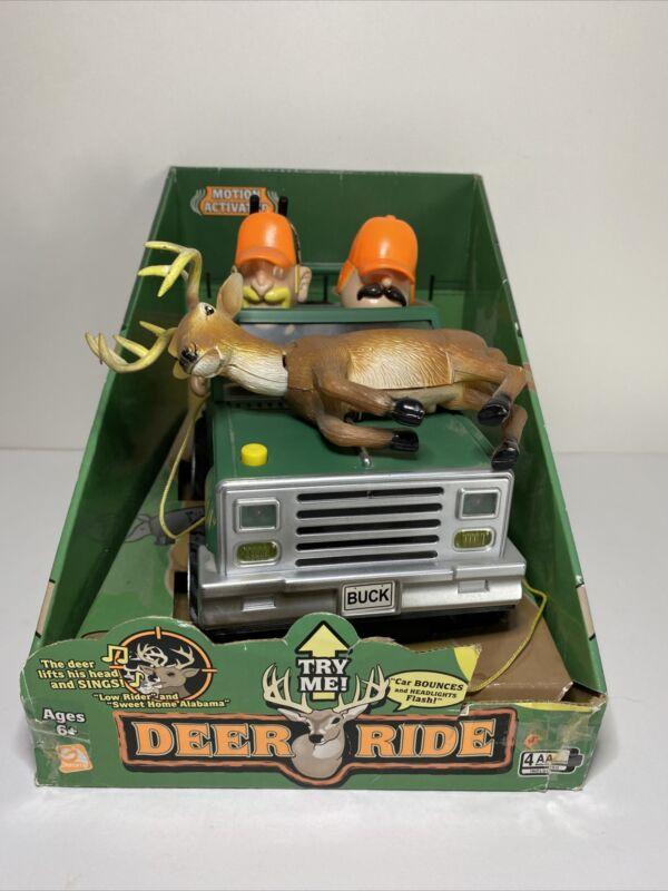Singing Toy Jeep W/ Deer Hunters Sweet Home Alabama GEMMY
