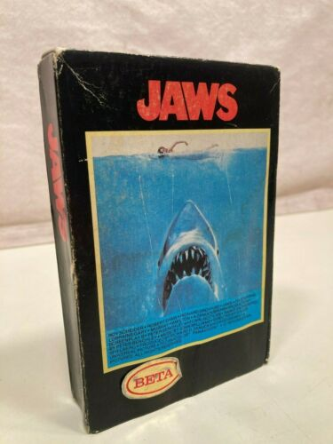 Vintage Jaws movie on BETA (circa 1980)