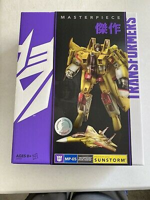 Hasbro Transformers Masterpiece MP-05 Sunstorm Toys R' Us EXCLUSIVE Brand New