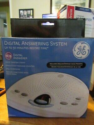 GE Digital Messaging System English/Spanish Answering Machine 29875GE1