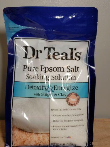 Dr. Teal's Detoxify & Energize Pure Epsom Salt Soaking Solut