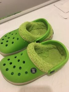 Kids crocs size 1