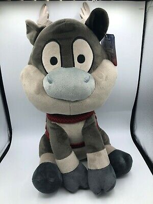 Large Frozen 2 Sven Disney Pixar Reindeer Deer Plush Kids Stuffed Toy Animal