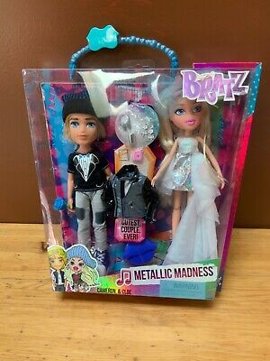 BRATZ Metallic Madness Cameron And Cloe NEW Sealed Box.