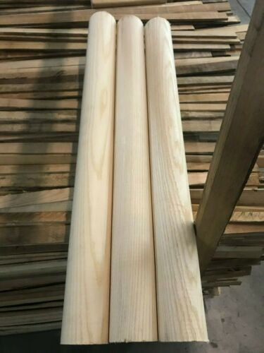 "28"" *QUALITY* *KILN DRIED* White ASH Woodworking/Craft Dowels"