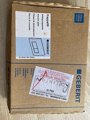 Geberit 115.260.46.1 Kappa50 Dual Flush Plate Matt Chrome