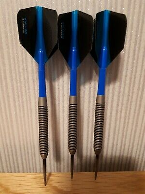 Set of Tungsten Darts 26g - length 13 cms - with flights & stems