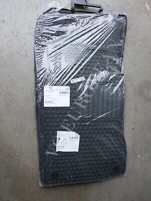 Mercedes Benz W211 E Class Base Genuine All Season Rubber Floor Mat Set NEW