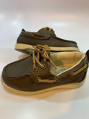 - GAP Baby Brown Boat Casual Shoes Toddler Boys Size 7