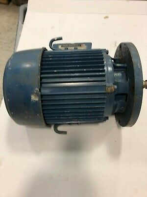 U.s. Electrical Motors Electric Motor7 12 Hp 3-phase 208 V 3480 Rpm Used