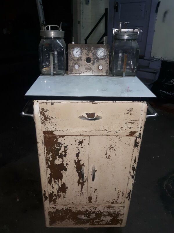 Antique Embalming Eckels Machine Super Rare Halloween Display