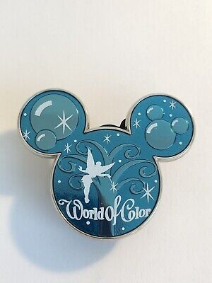 DLR World Of Color Mystery Collection Mickey Icon Super Chaser Disney Pin LE B6 Disney Collection Mickey Icon