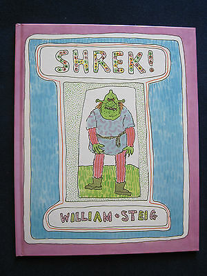 Shrek By William Steig First Edition   Basis Of Oscar Nominated Animated Film