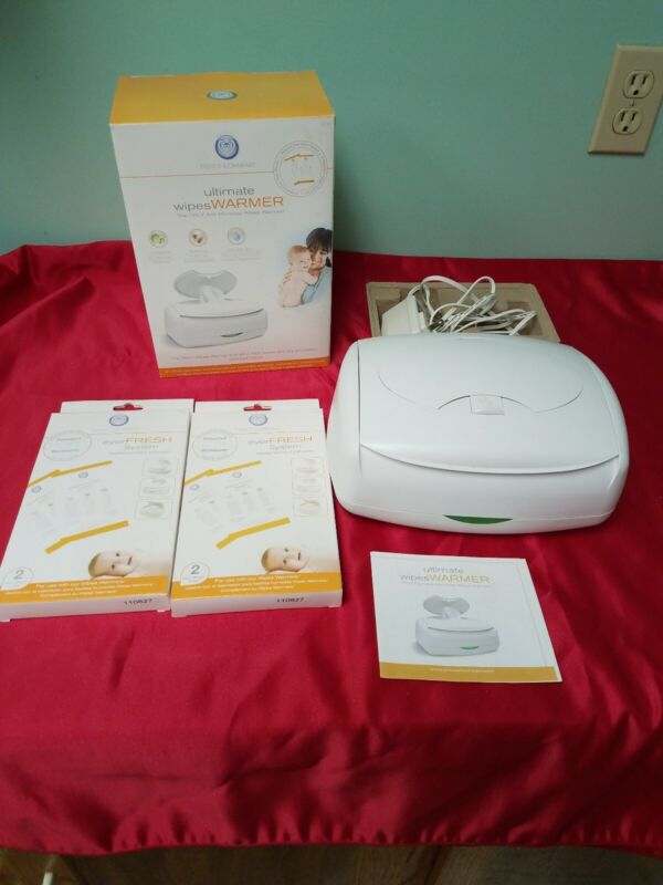 Prince Lionheart Ultimate Anti-microbial Wipes Warmer & Ever Fresh Pad