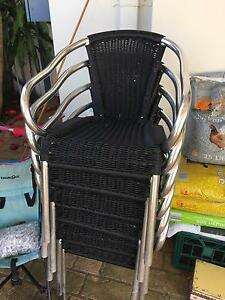 outdoor chairs Bexley Rockdale Area Preview