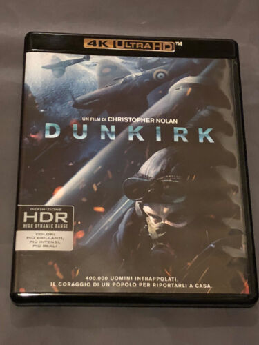 Dunkirk 4k Blu Ray englischer Ton NEU aber ohne Folie