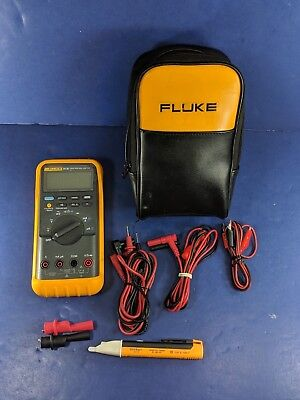 Fluke 87 Iii Excellent Screen Protector Soft Case More
