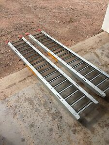 Atv ramps and motorcross gear