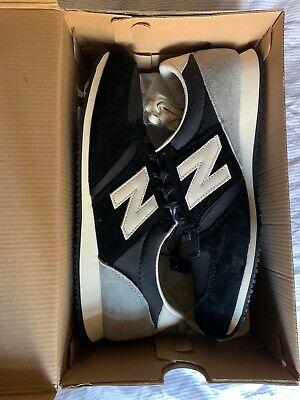 New Balance U420UKK Sneakers Classic Black Grey Suede Size 12