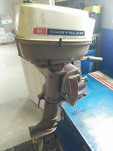 Chrysler 5HP Two Stroke Outboard Boat Motor