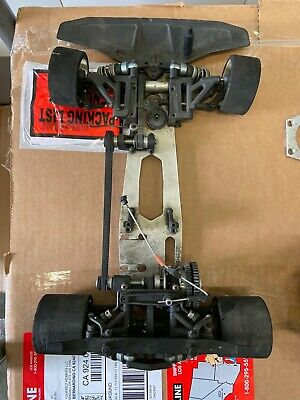 Kyosho 1/8 nitro race car rolling chassis Nitro Race Car