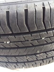 205/55/r16 Summer tires on rims (off of a 2005 Pontiac Vibe)