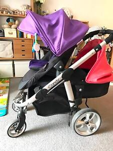 iCandy AppleV2 Stroller with other iCandy assessories Glebe Inner Sydney Preview