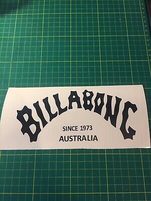 BILLABONG car Van Window Sticker X1