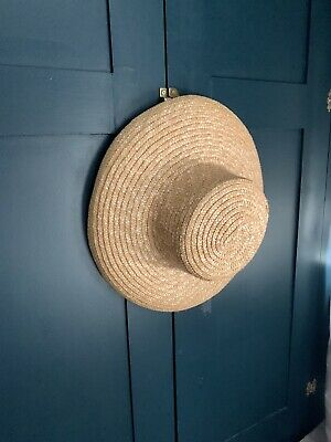 Wide Brim Vintage Straw Hat Boho Summer