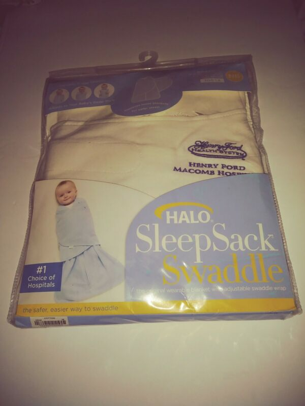 Halo Sleep Sack Swaddle Newborn (0-3 months) NIP