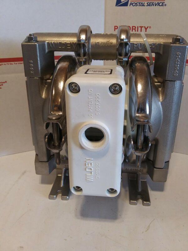 Wilden P1/SSPPP/TNU/TF/STF Double Diaphragm Pump