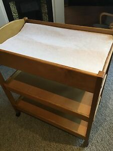 Solid Timber Baby Change Table - King Parrot brand Maylands Norwood Area Preview