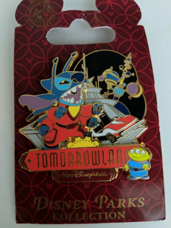 Disney Pin - WDW - Magic Kingdom® Park Areas - Tomorrowland® Area - Stitch