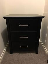 2x bedside tables Redcliffe Belmont Area Preview