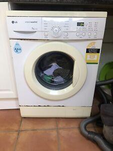 LG front loader washing machine