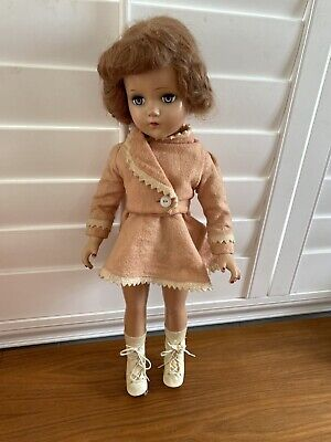 "Beautiful Vintage  20"" Arranbee R & B Nanette Doll In Skating Outfit"