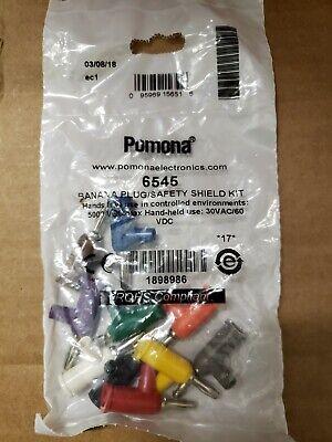 Pomona 6545 Banana Plug Variety Pack Red Blue Orange Yellow Black 1825