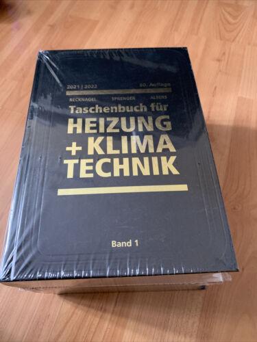 Recknagel 80.Auflage - Taschenbuch für Heizung und Klimatechnik 2021/22